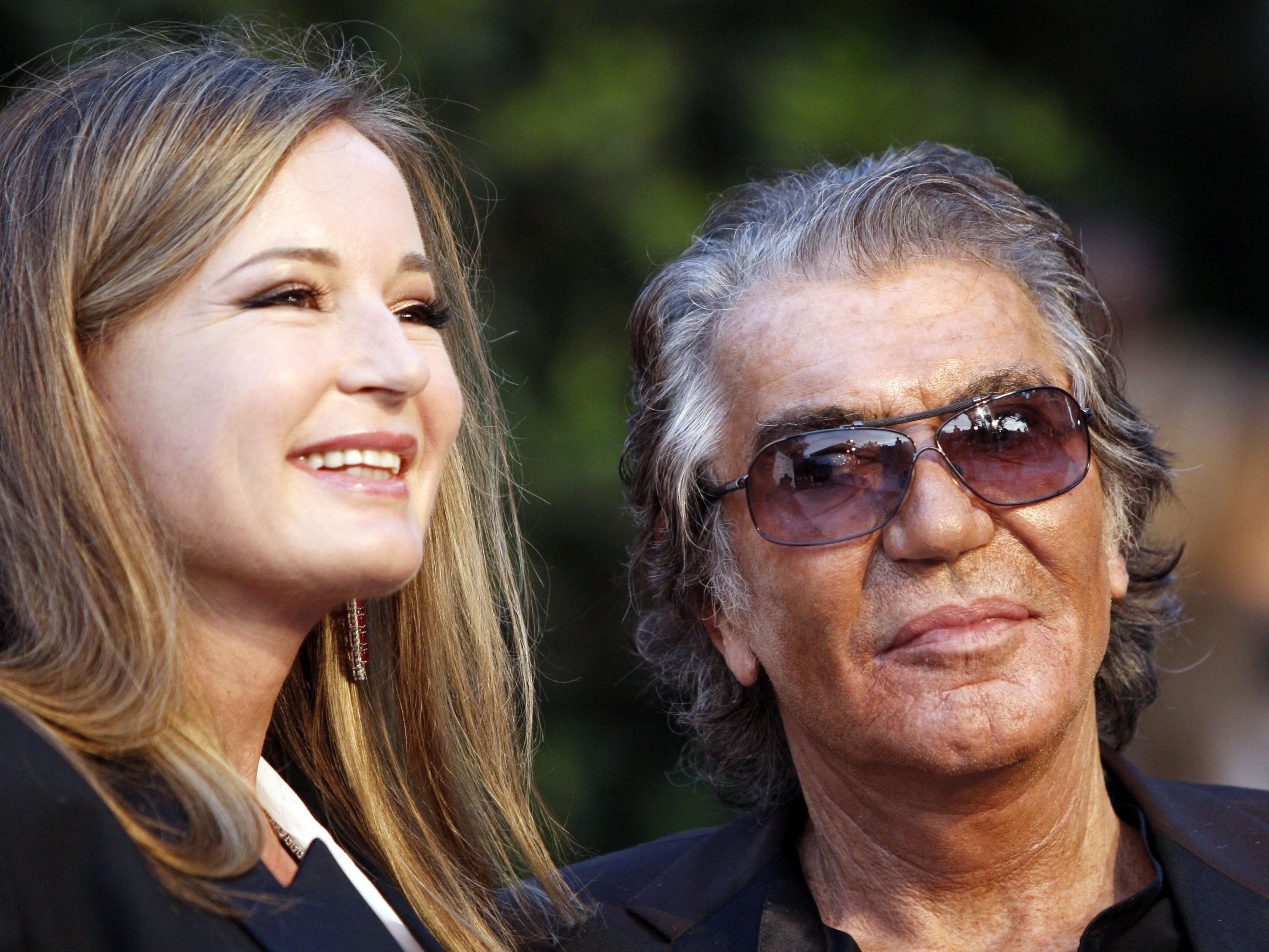 Roberto und Eva Cavalli führen gemeinsam das millionenschwere Cavalli-Modeimperium.