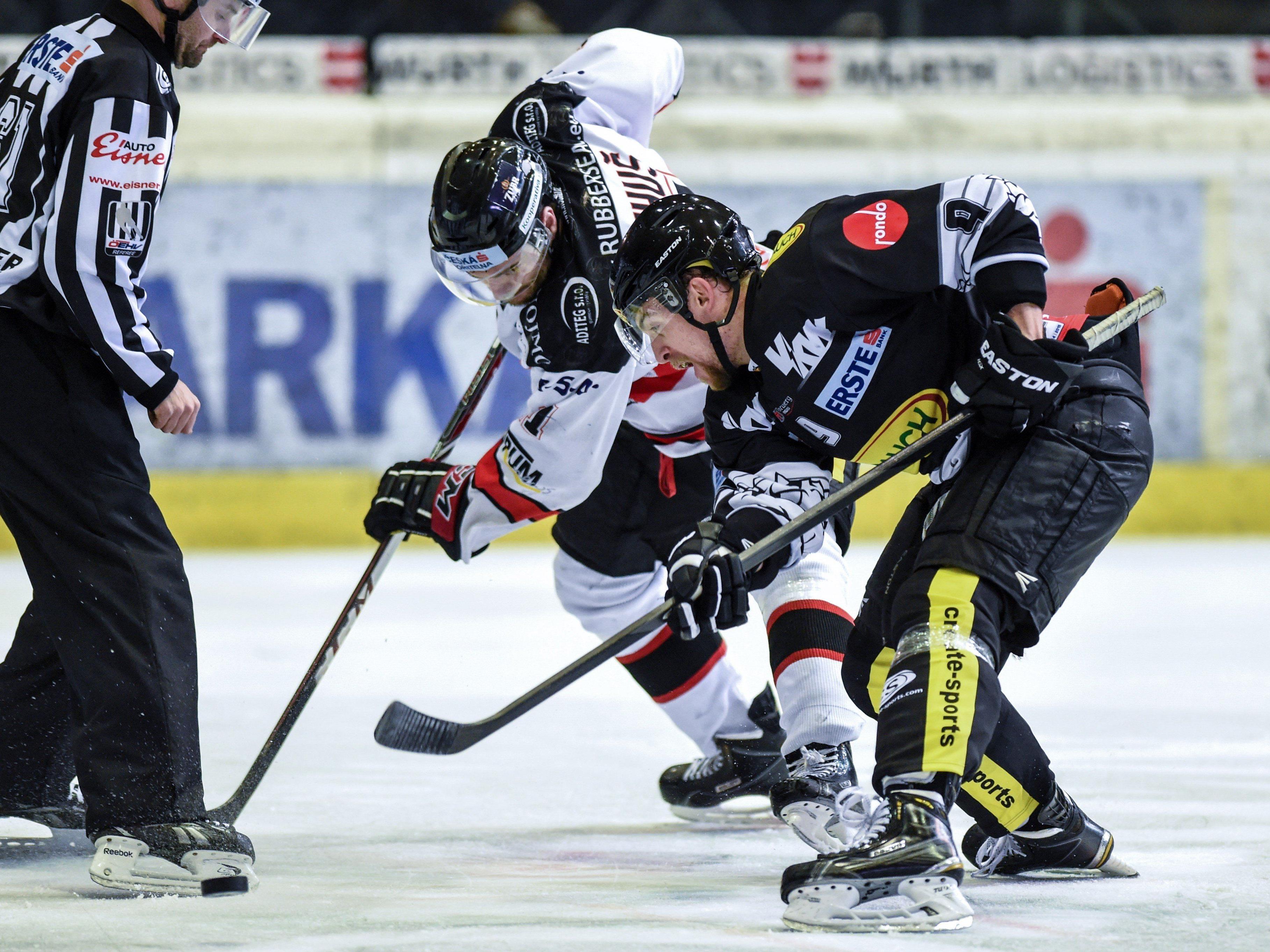 Eishockey in der Messehalle: Die Bulldogs müssen gegen den Tabellenführer ran.