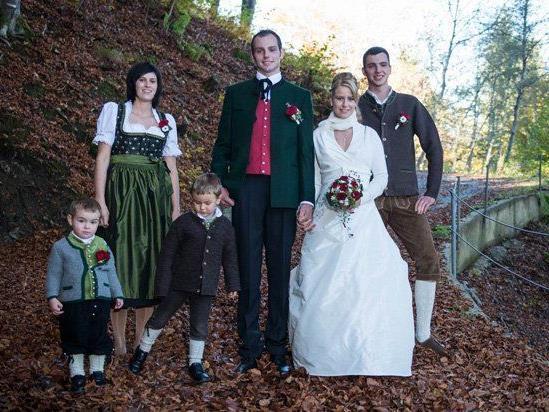 Hochzeit von Rebecca und Johannes.