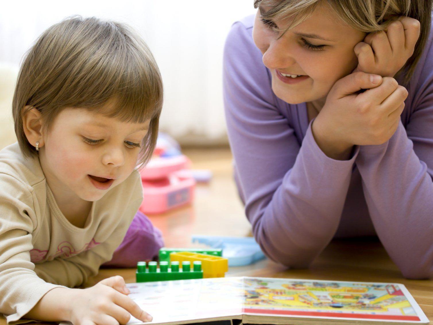 In einer Wohlfühlatmosphäre erzählen Kinder gerne und ungestört.