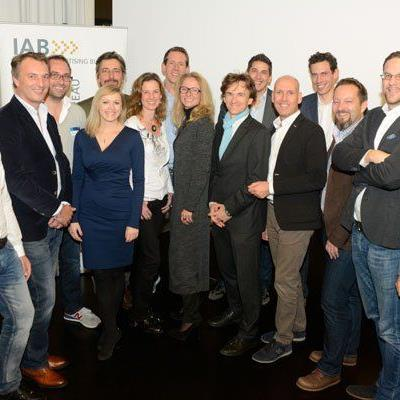 Das neue Vorstandsgremium des IAB Austria.