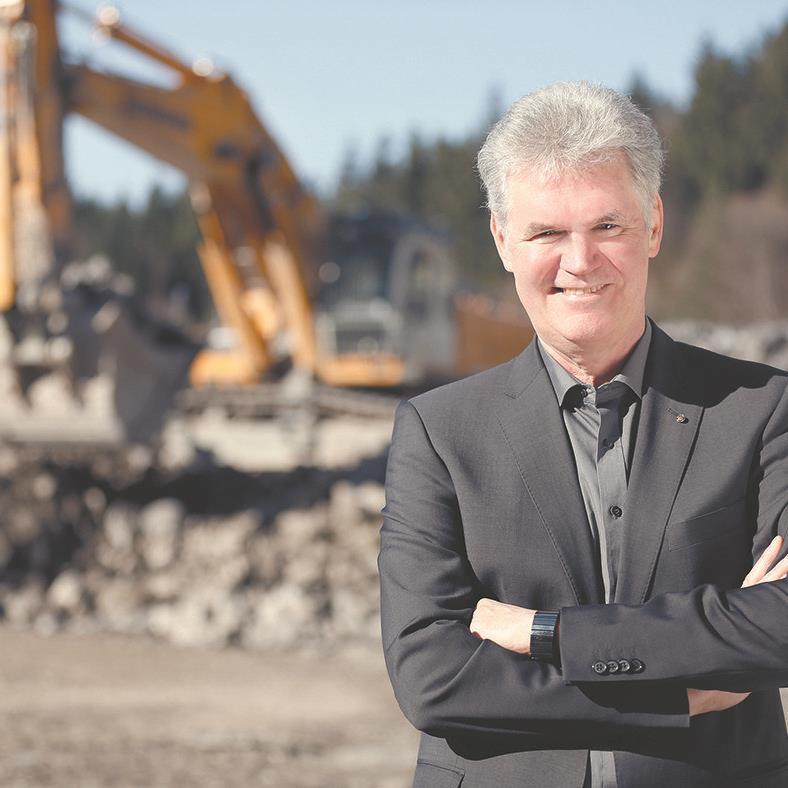 Peter Keckeis, Innungsmeister Bau