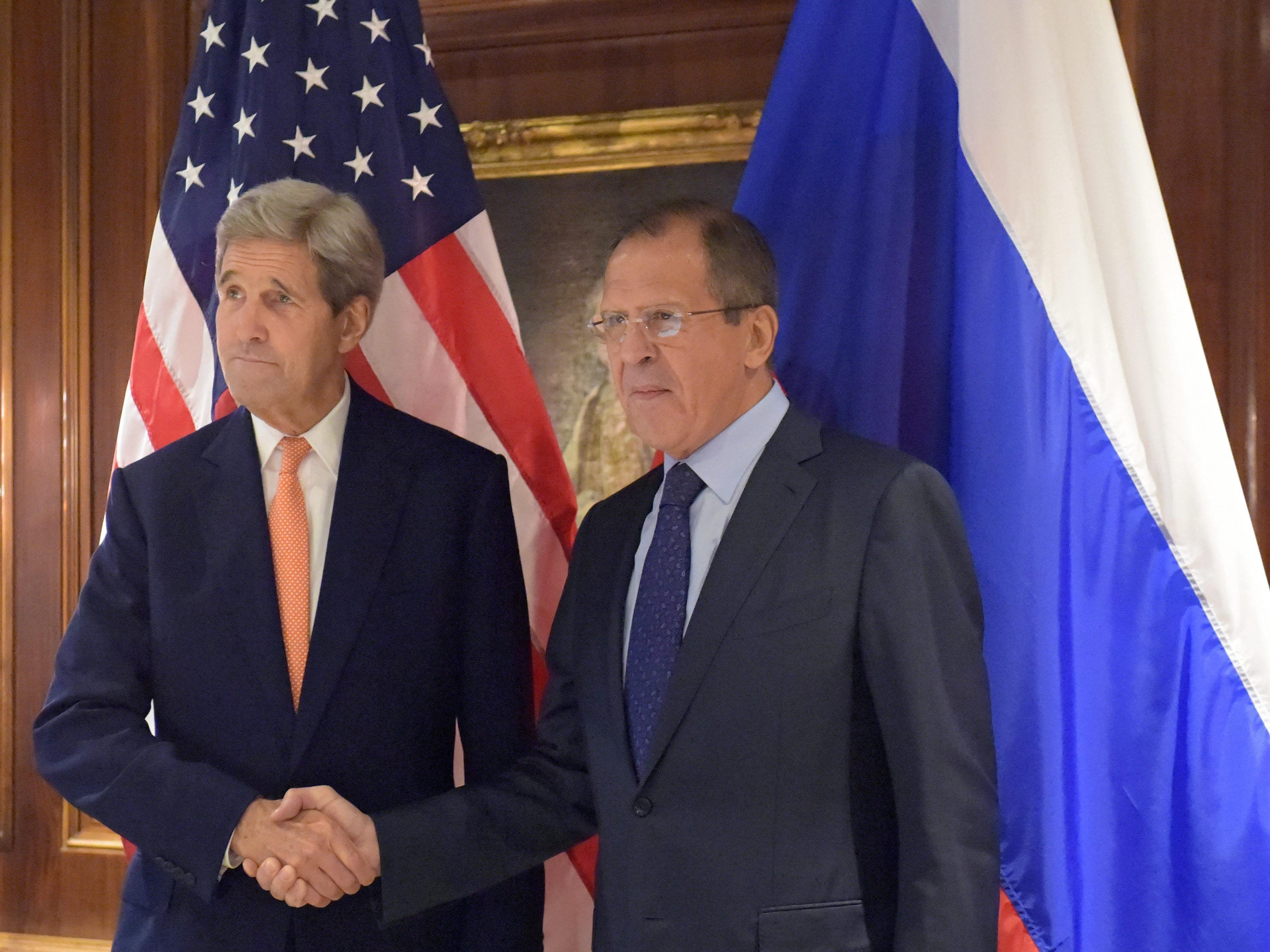 """US-Außenminister: In Wien diskutierte Ideen """"könnten Dynamik in Syrien verändern""""."""