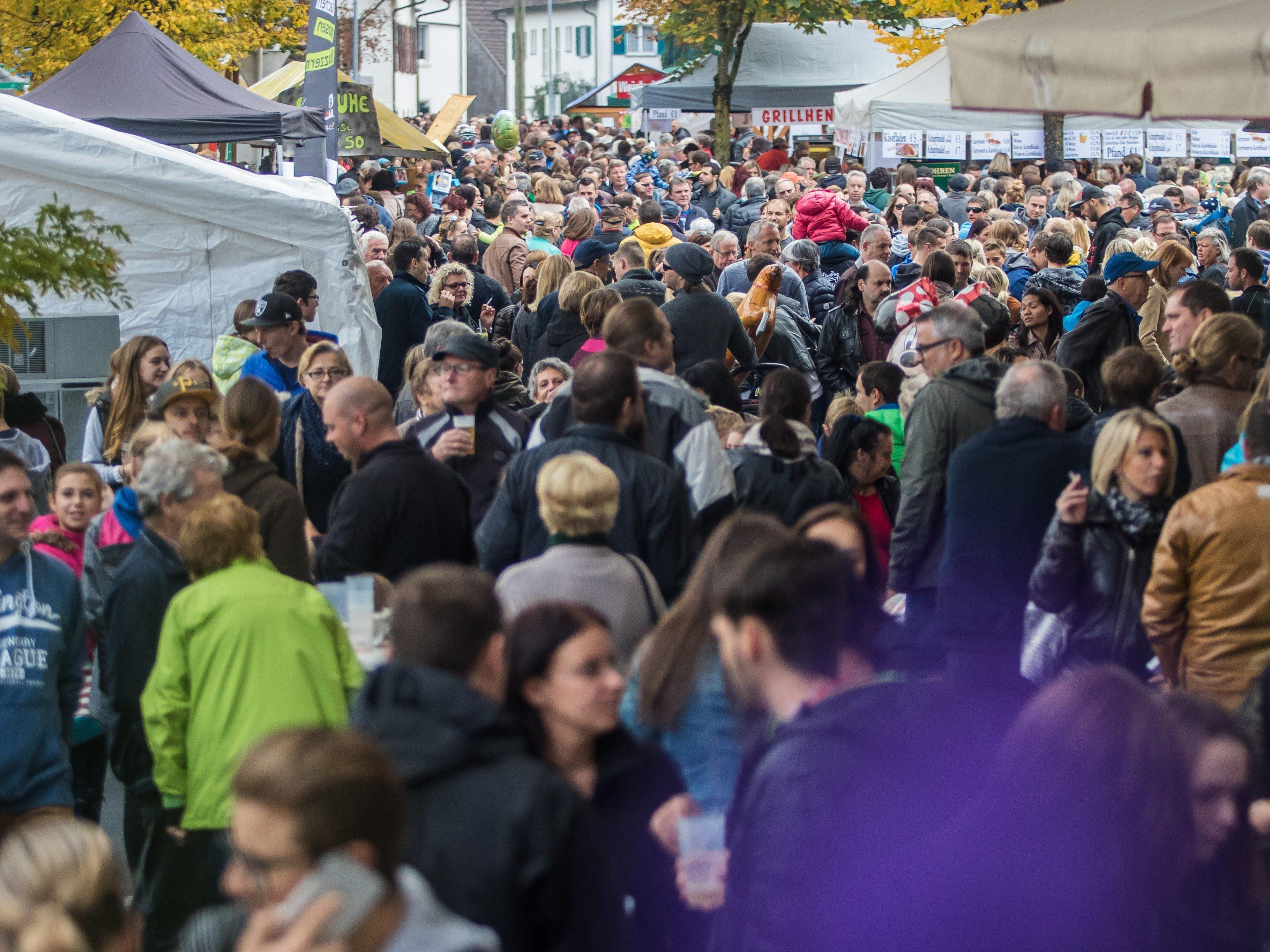 Die Kilbi lockte tausende Besucher nach Lustenau.
