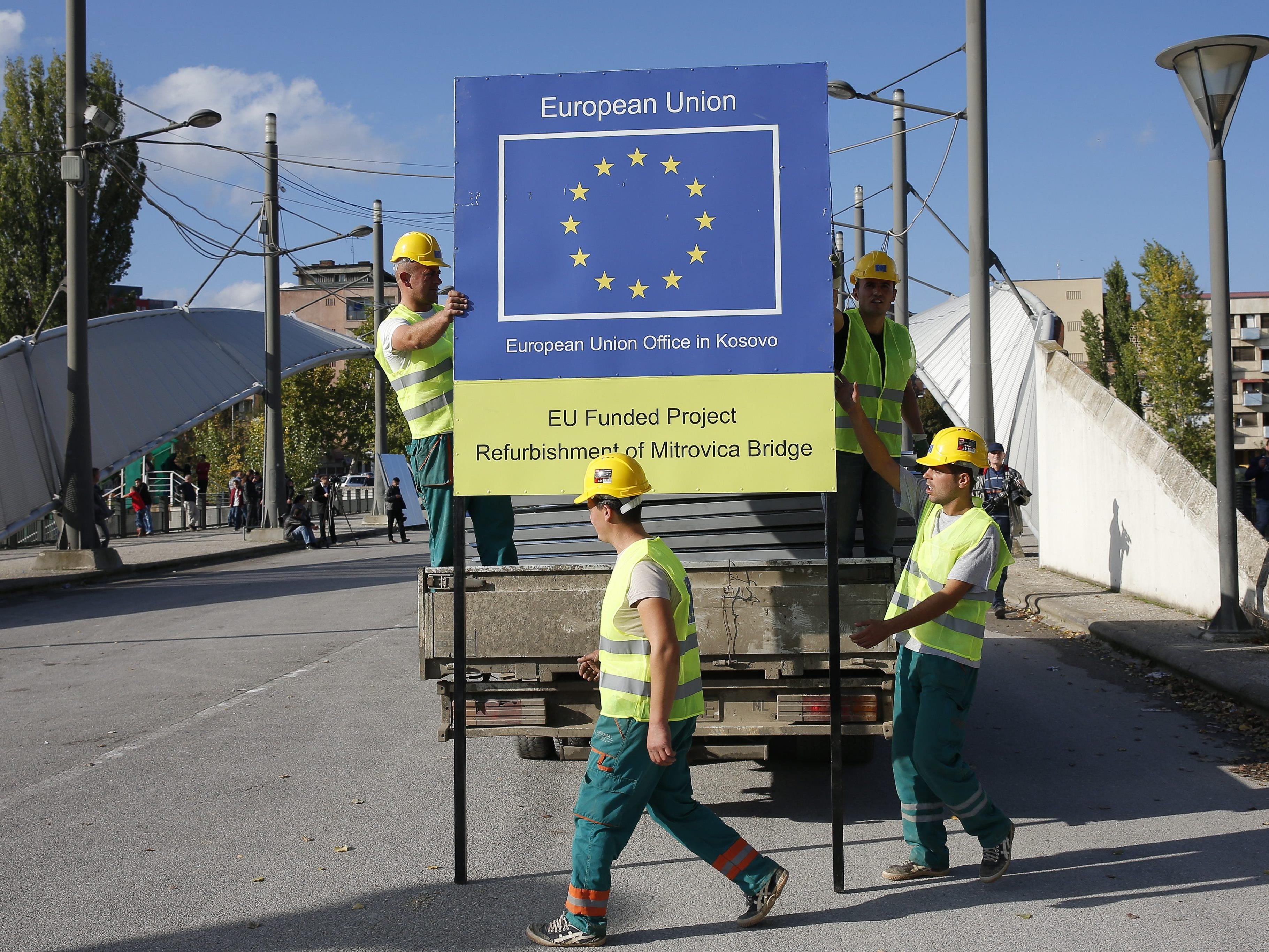 Brückenbau: Kosovo bereitet sich auf EU-Beitritt vor.