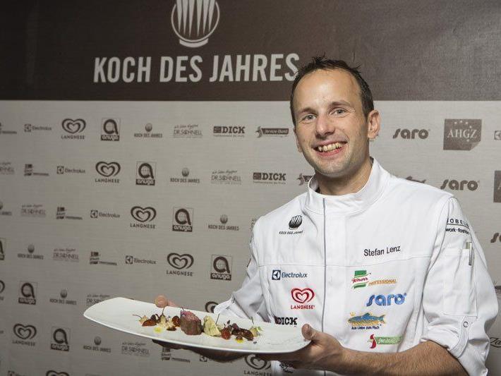 Der Bregenzer Stefan Lenz ist Koch des Jahres.