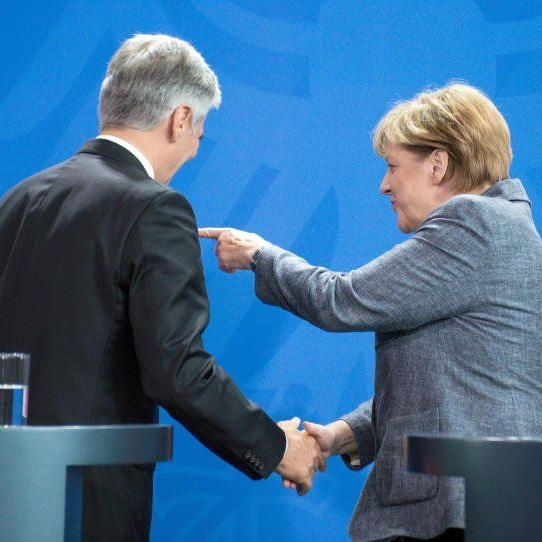 Merkel darf sich über gut Arbeitsmarktzahlen freuen