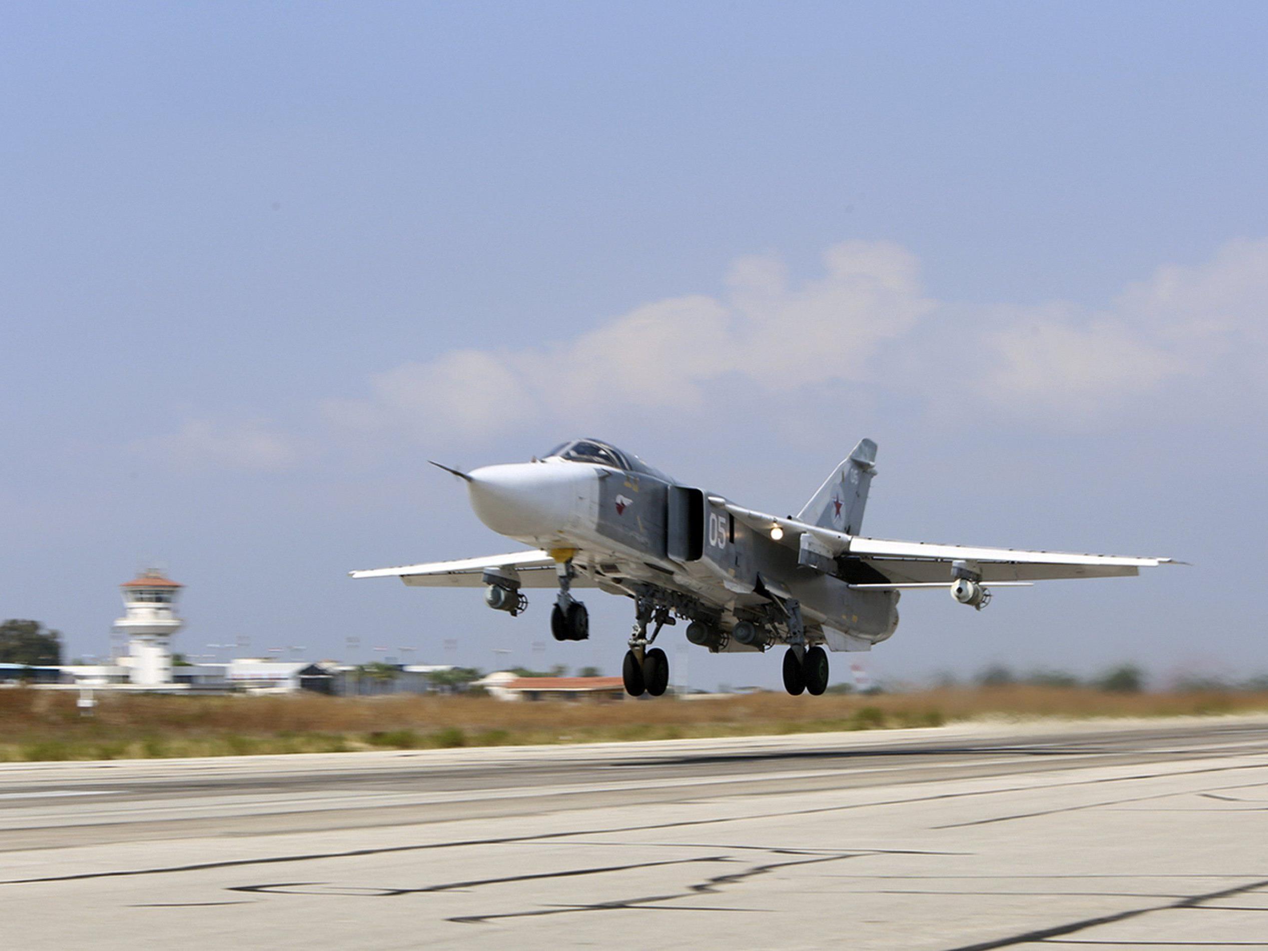 Im Luftraum über der türkisch-syrischen Grenze wird es eng.