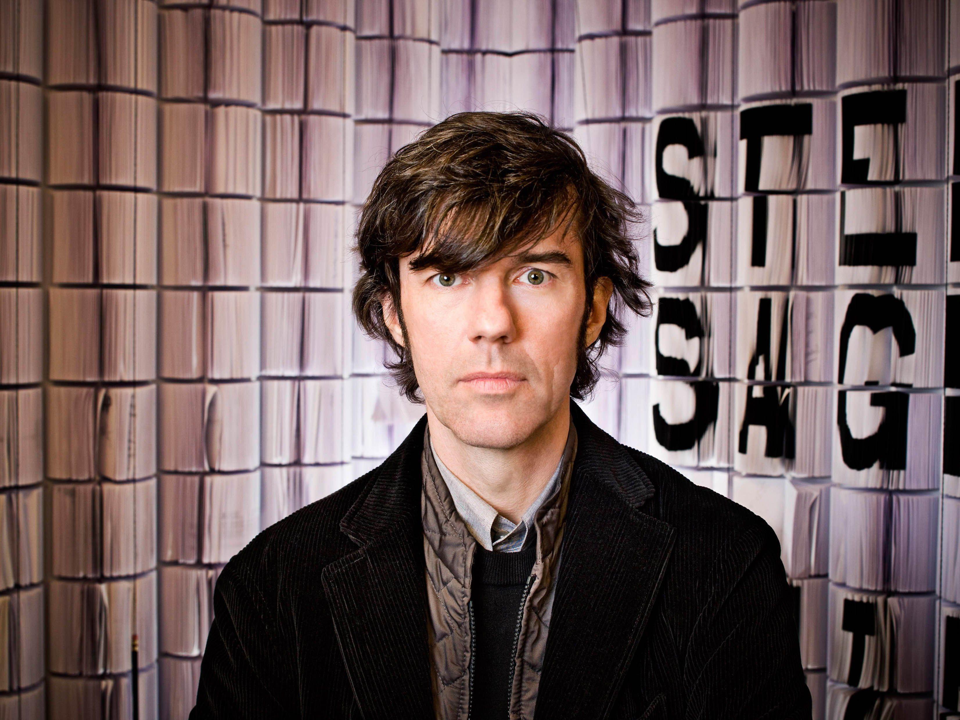 """In New York lebender Vorarlberger Grafikdesigner Stefan Sagmeister mit """"The Happy Show"""" im Wiener MAK."""