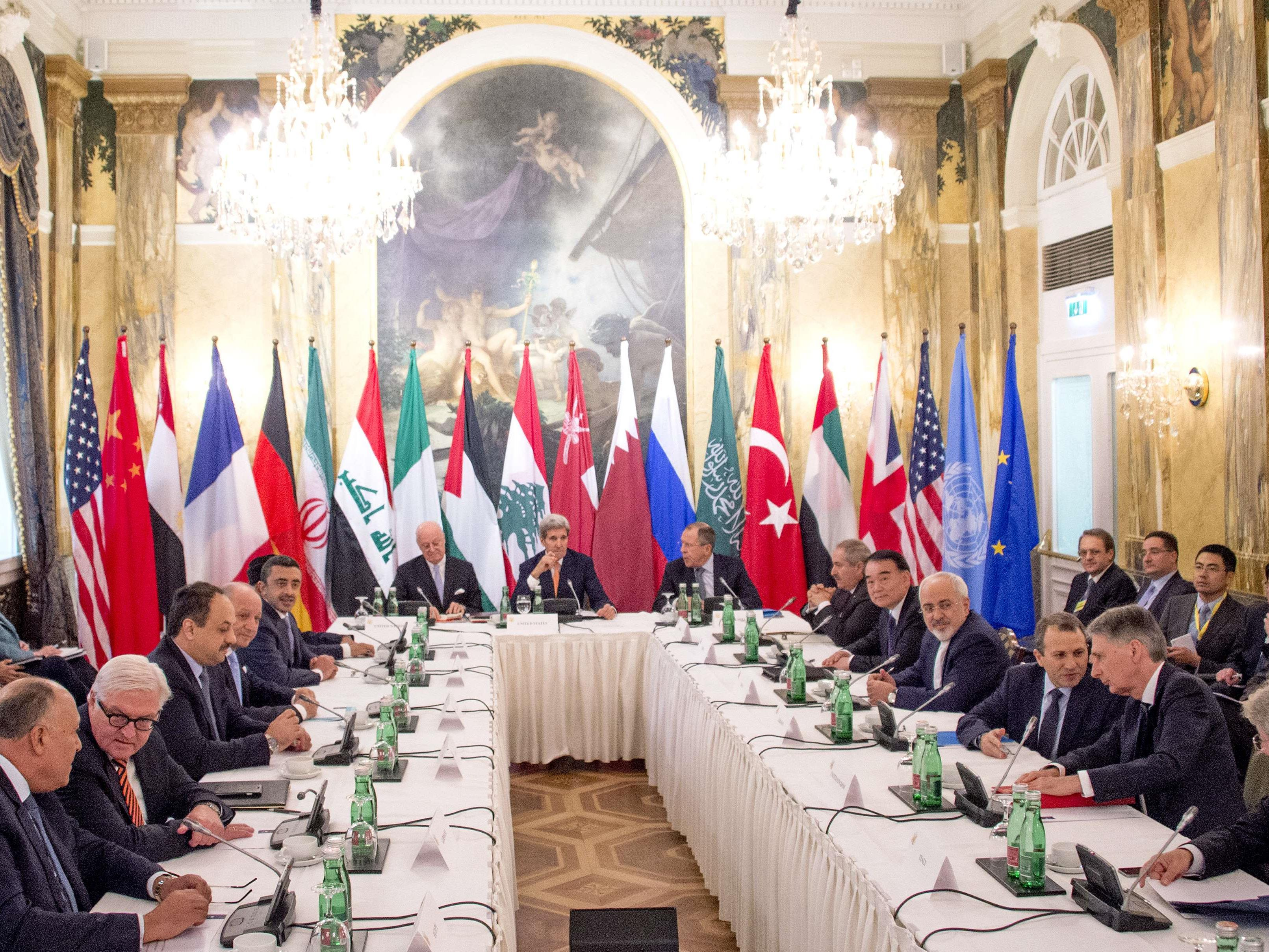 Syrien-Konferenz tagt in Wien.