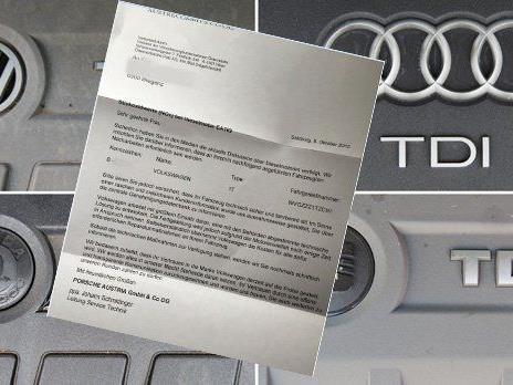 VW informiert derzeit die Autobesitzer.