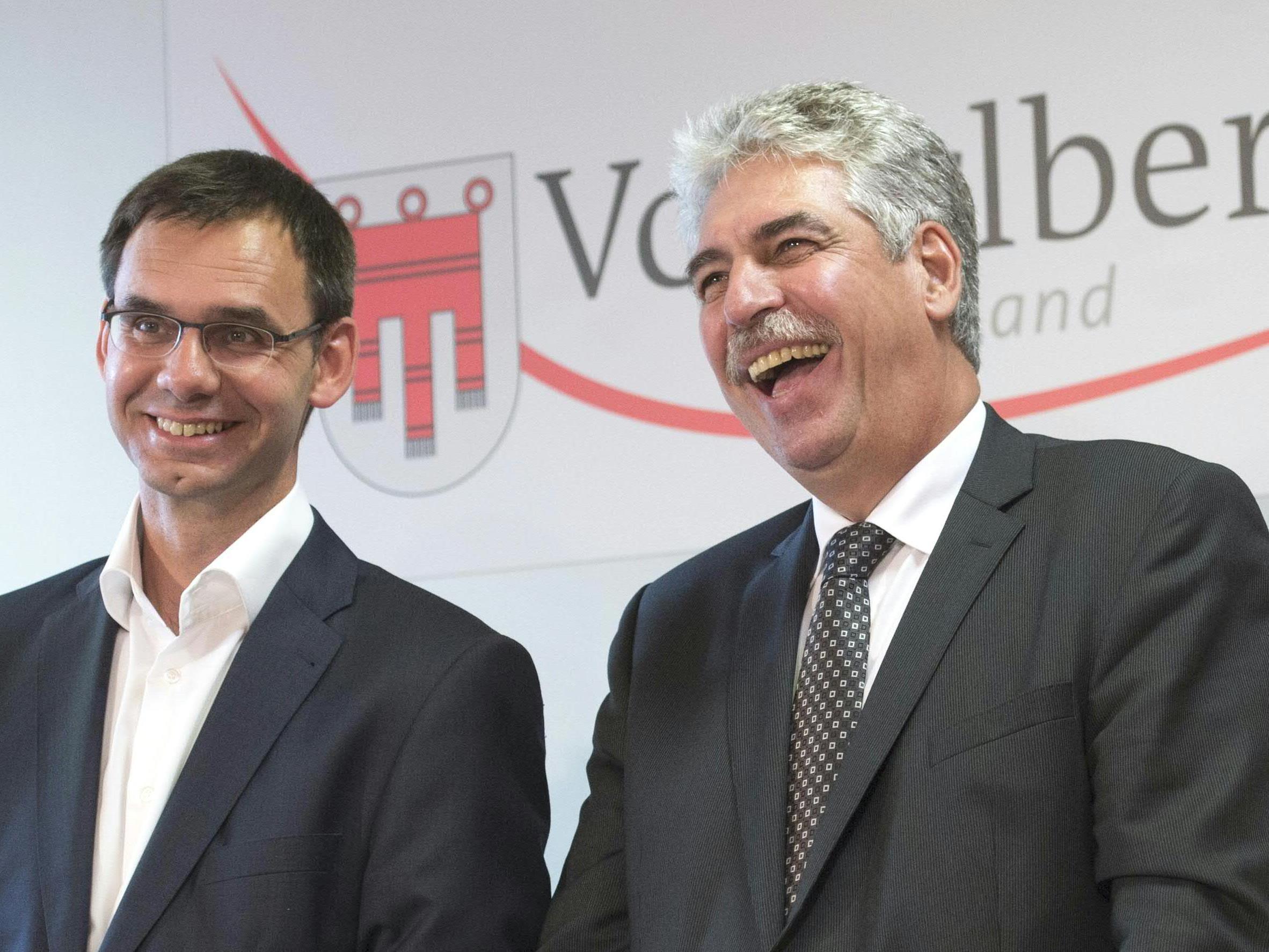 Wallner und Finanzminister Schelling (beide ÖVP) sind zumindest prinzipiell auf einer Linie.