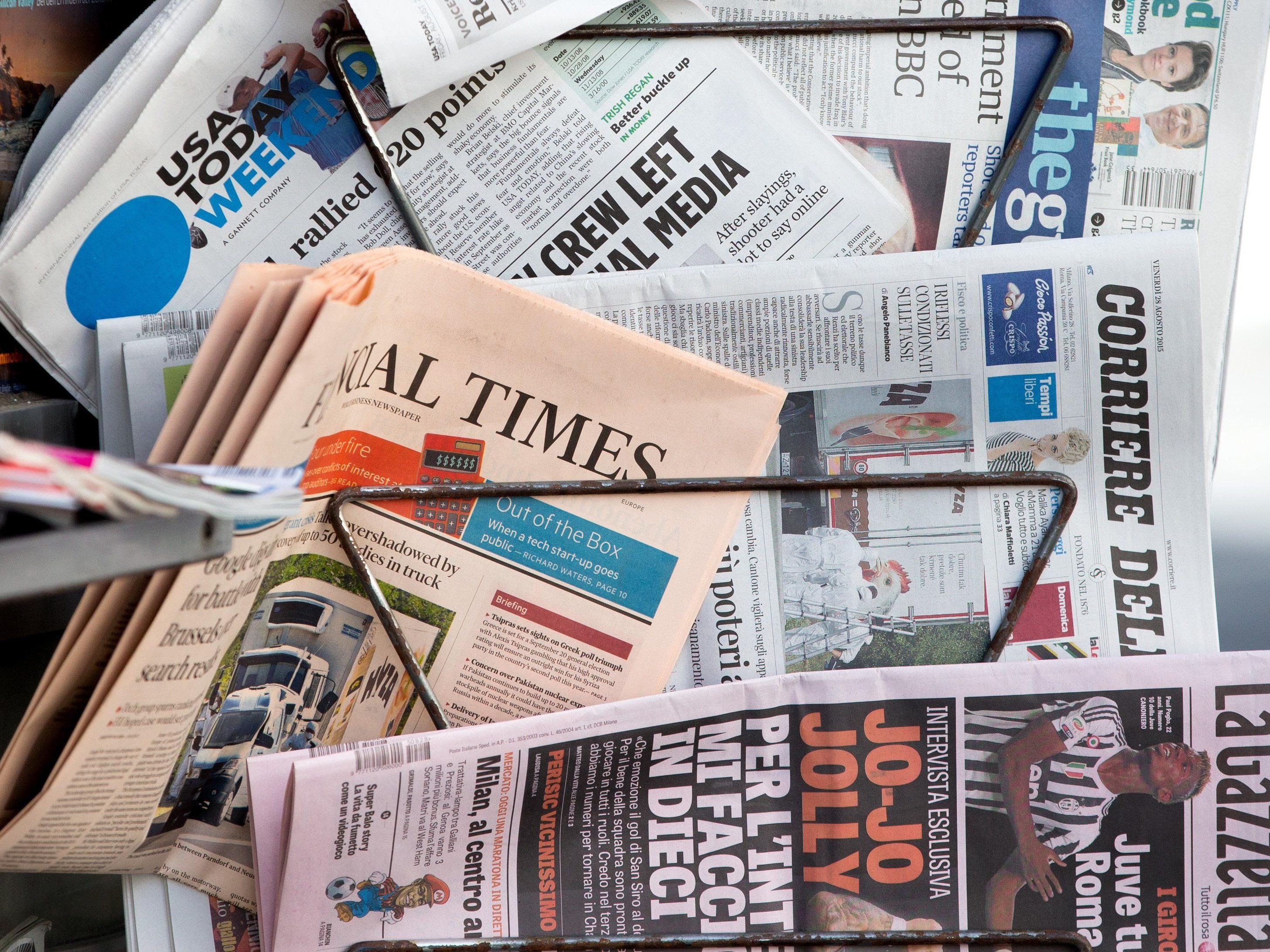 Digitales Schlusslicht: Den klassischen Medien geht es in Österreich so gut wie sonst nirgends.