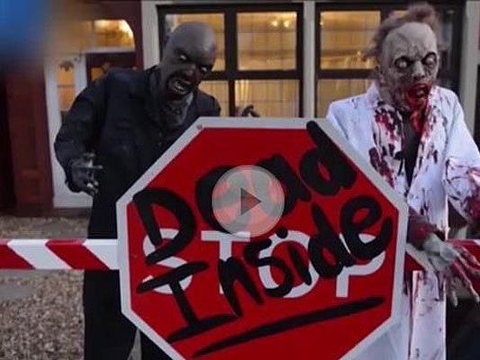 Zombies und Co. bevölkern das Halloween-Horror-Haus