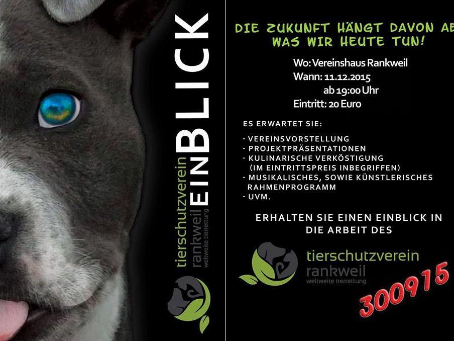 Flyer Tierschutzverein Rankweil