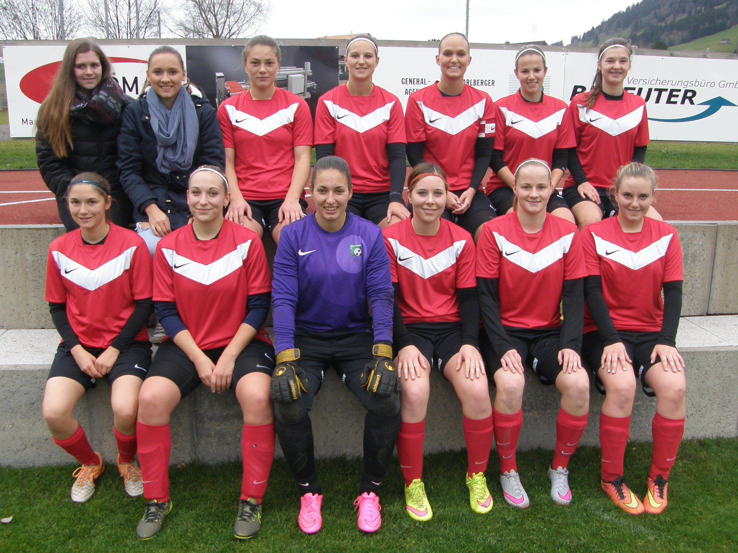Das Damenteam des FC Alberschwende ließ bisher nicht viel anbrennen.