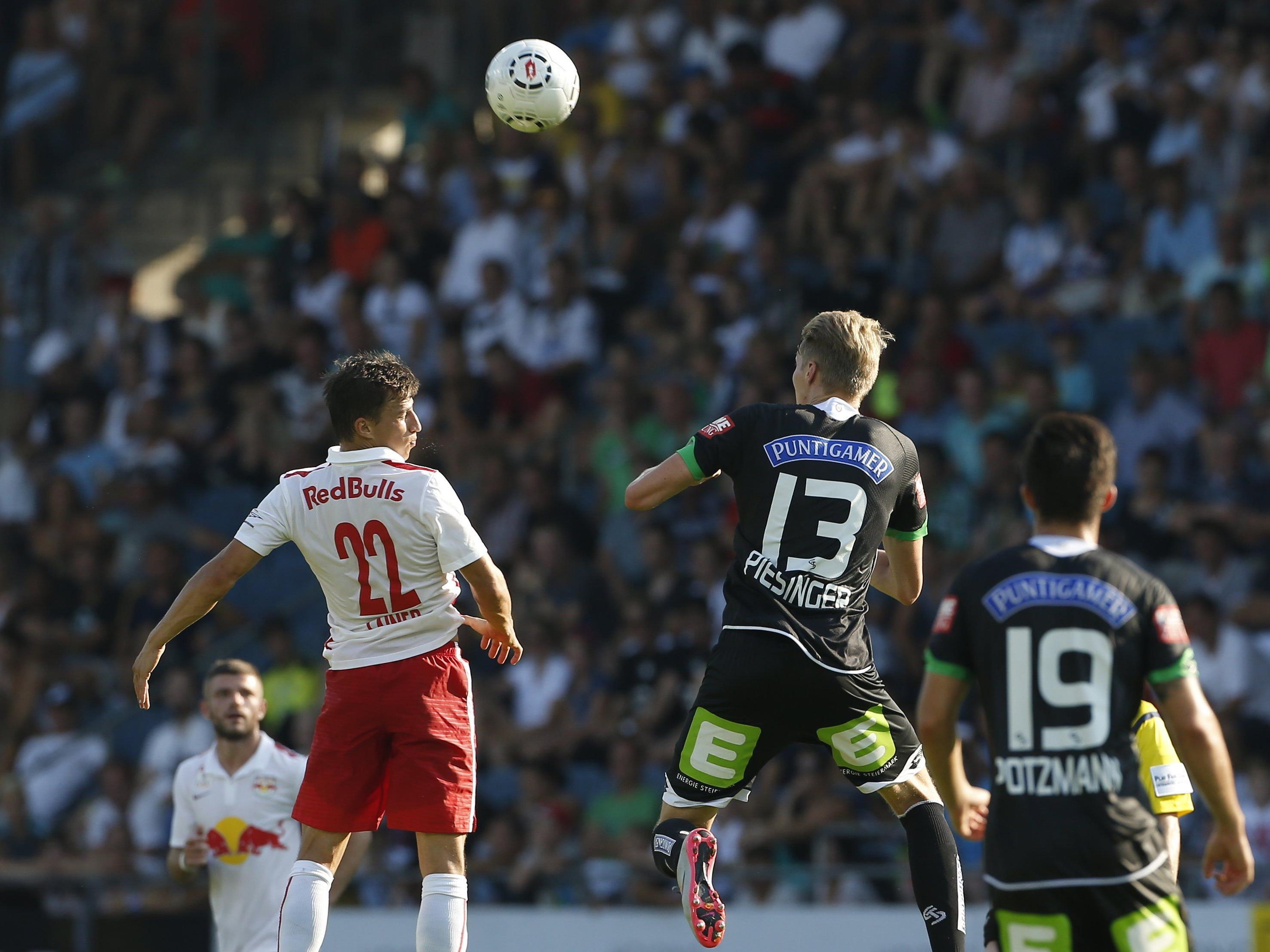 LIVE-Ticker zum Spiel Red Bull Salzburg gegen SK Sturm Graz ab 16.30 Uhr.