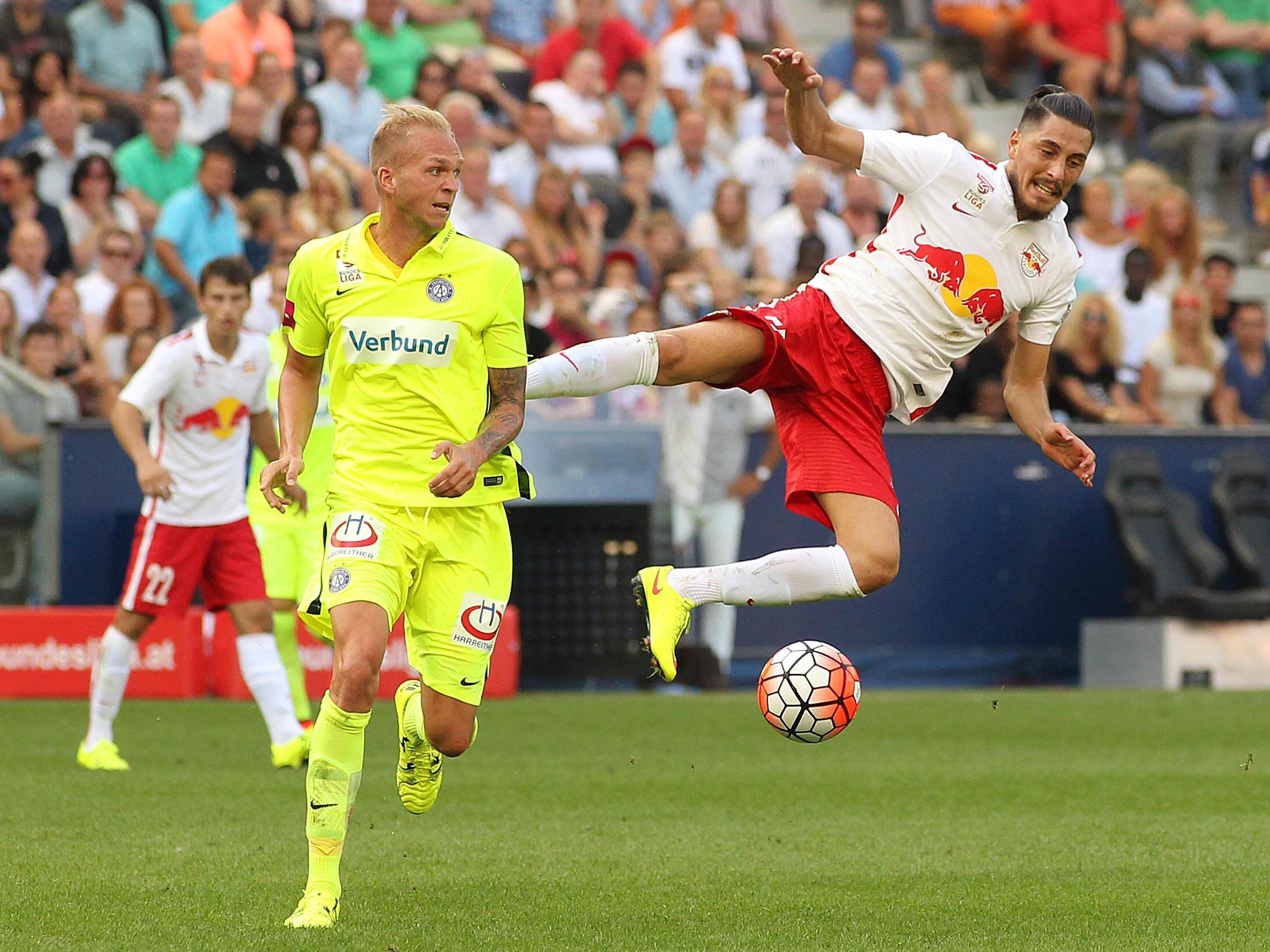 LIVE-Ticker zum Spiel FK Austria Wien gegen Red Bull Salzburg ab 16.00 Uhr.