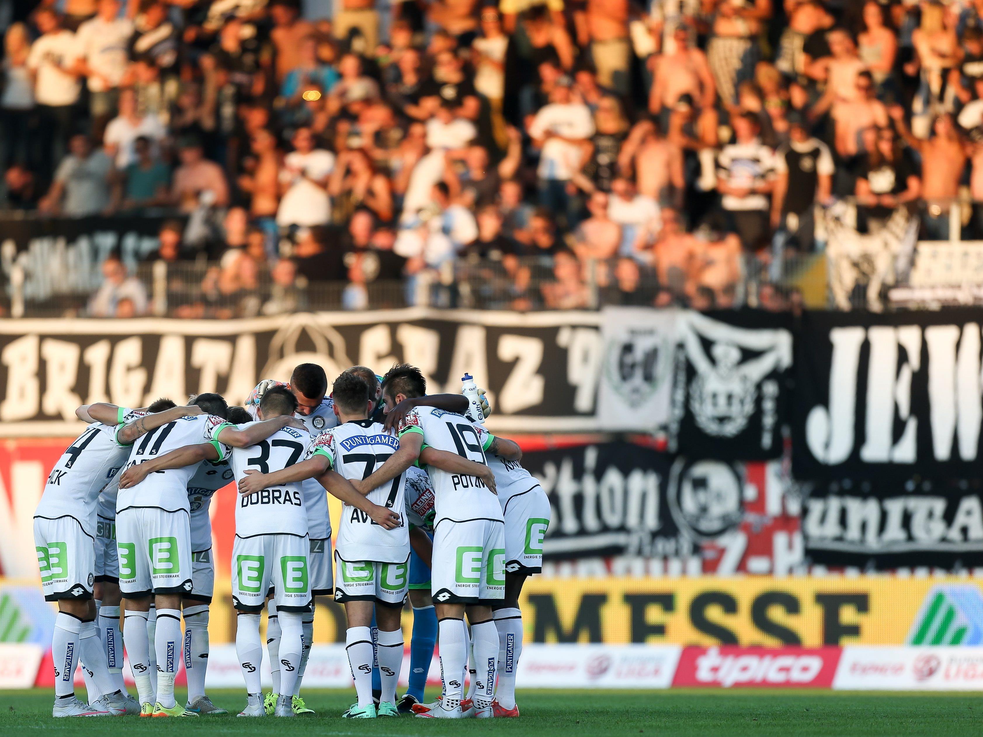 LIVE-Ticker zum Spiel SK Sturm Graz gegen SV Ried ab 20.30 Uhr.