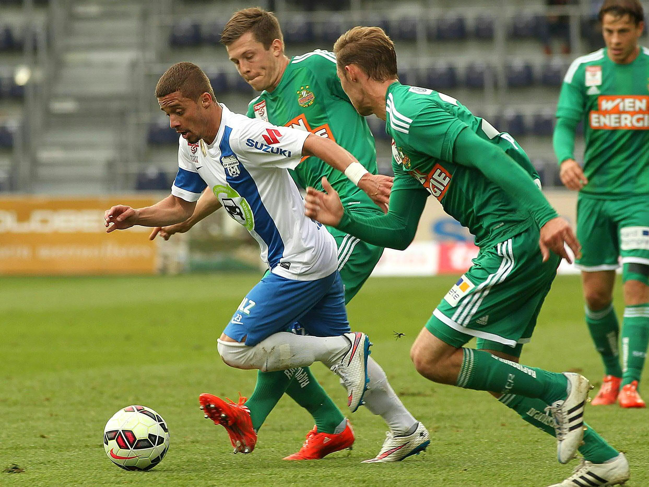 LIVE-Ticker zum Spiel SV Grödig gegen SK Rapid Wien ab 16.30 Uhr.