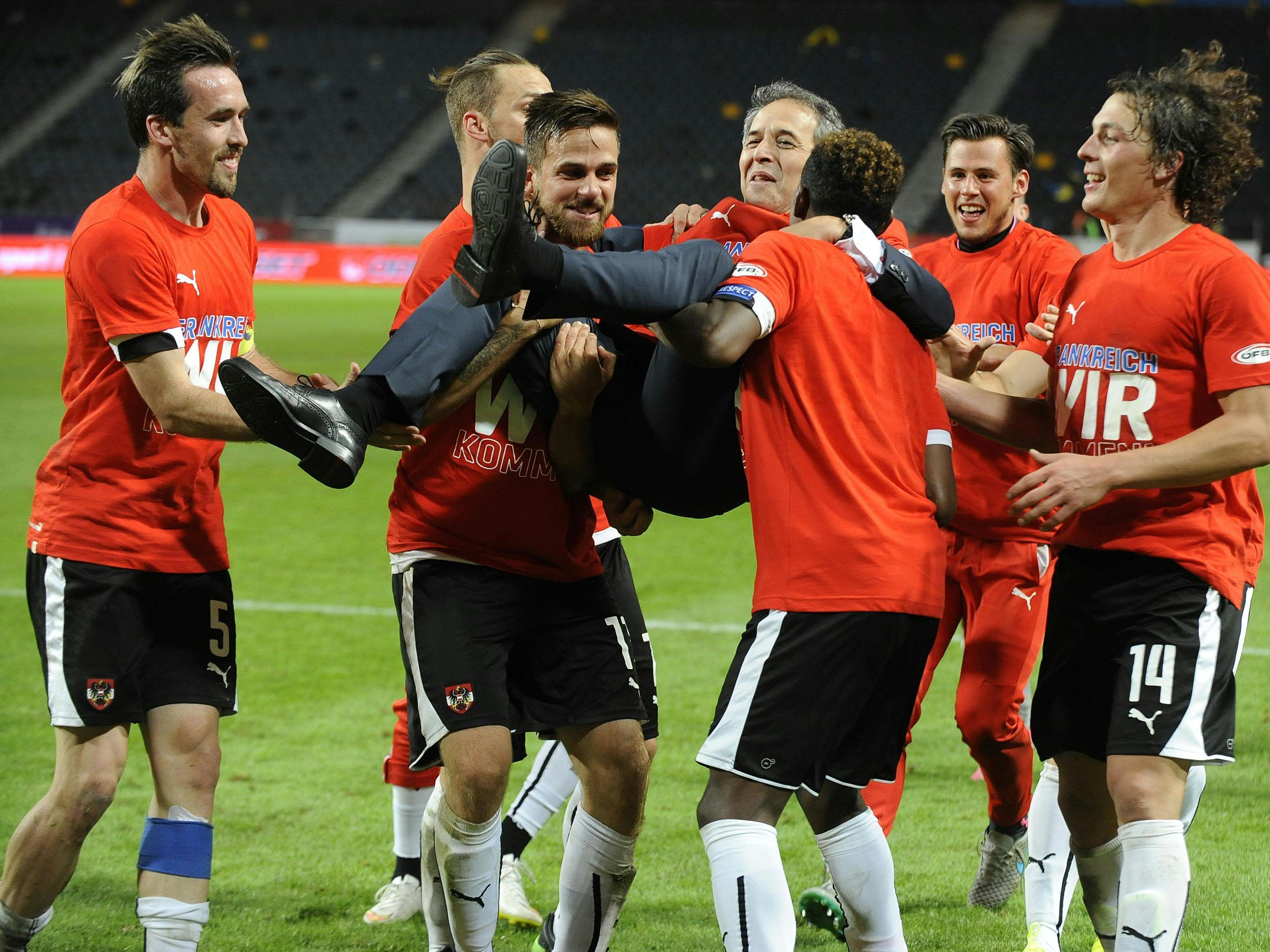 Das ÖFB-Team schließt ein bärenstarkes Länderspieljahr ab.