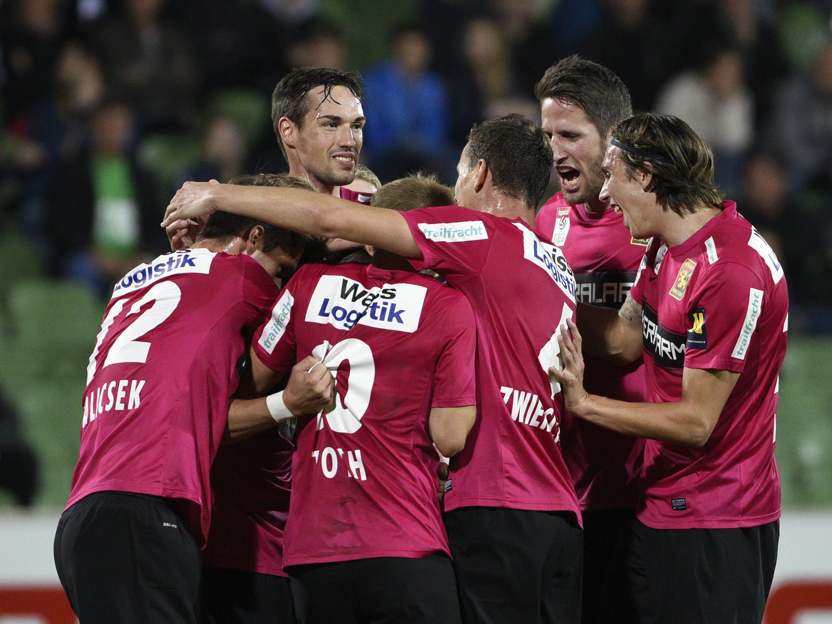 LIVE-Ticker zum Spiel FC Admira Wacker Mödling gegen SCR Altach ab 18.30 Uhr.