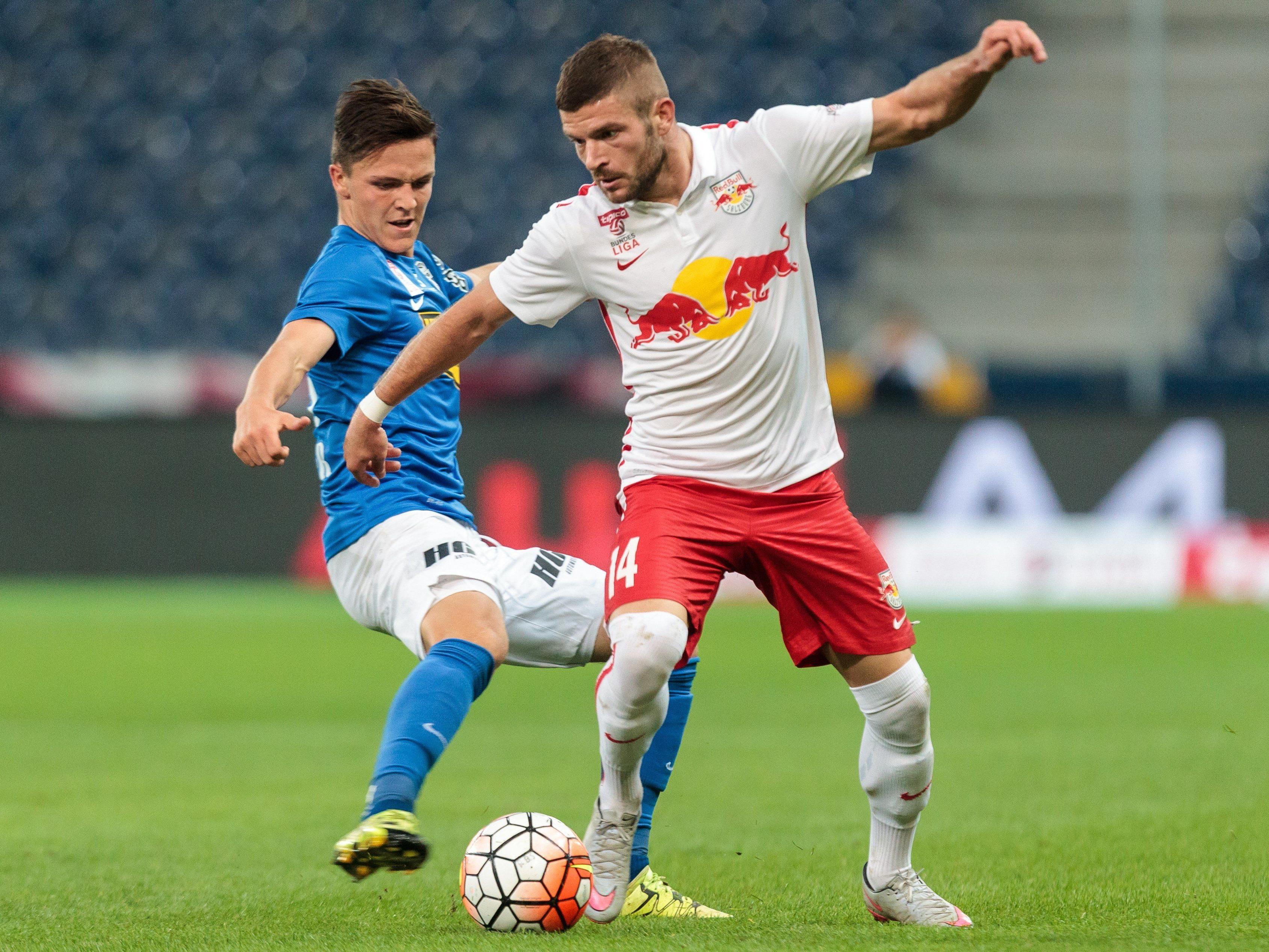 LIVE-Ticker zum Spiel SV Grödig gegen Red Bull Salzburg ab 18.30 Uhr.