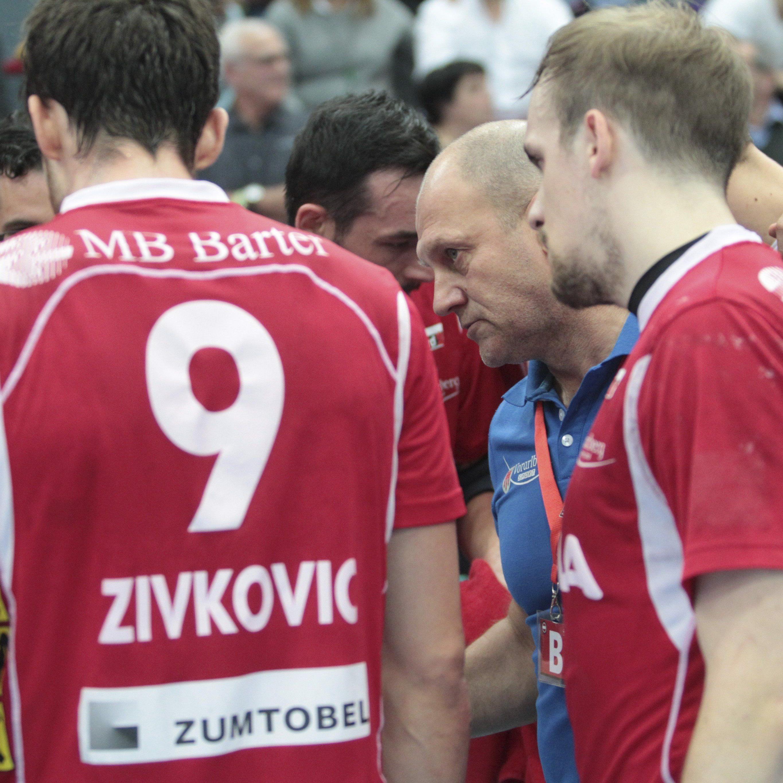 Die Harder Handballer mussten sich in Minsk geschlagen geben.