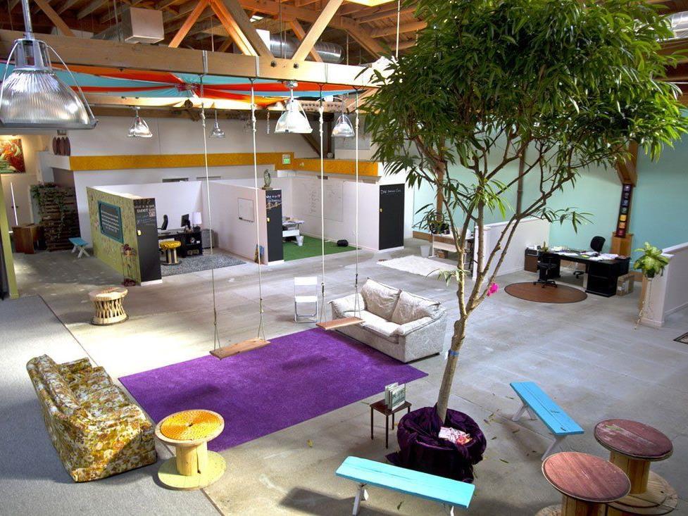 Couchsurfing-Headquarter – Fotografin: Kelly Robinson