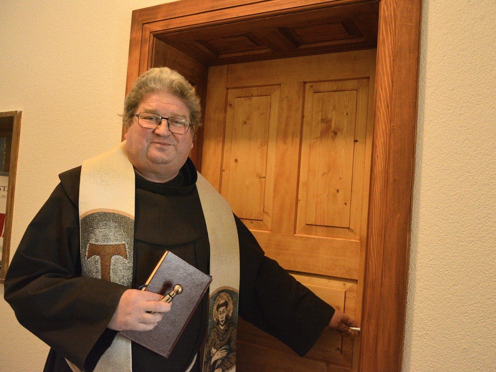 Die Franziskaner hielten Einzug in die neusanierten Wohnräume im Kloster.
