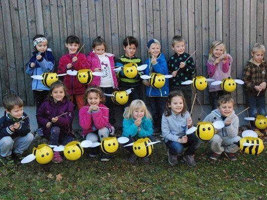 Bienengruppe des Kindergarten Düns.