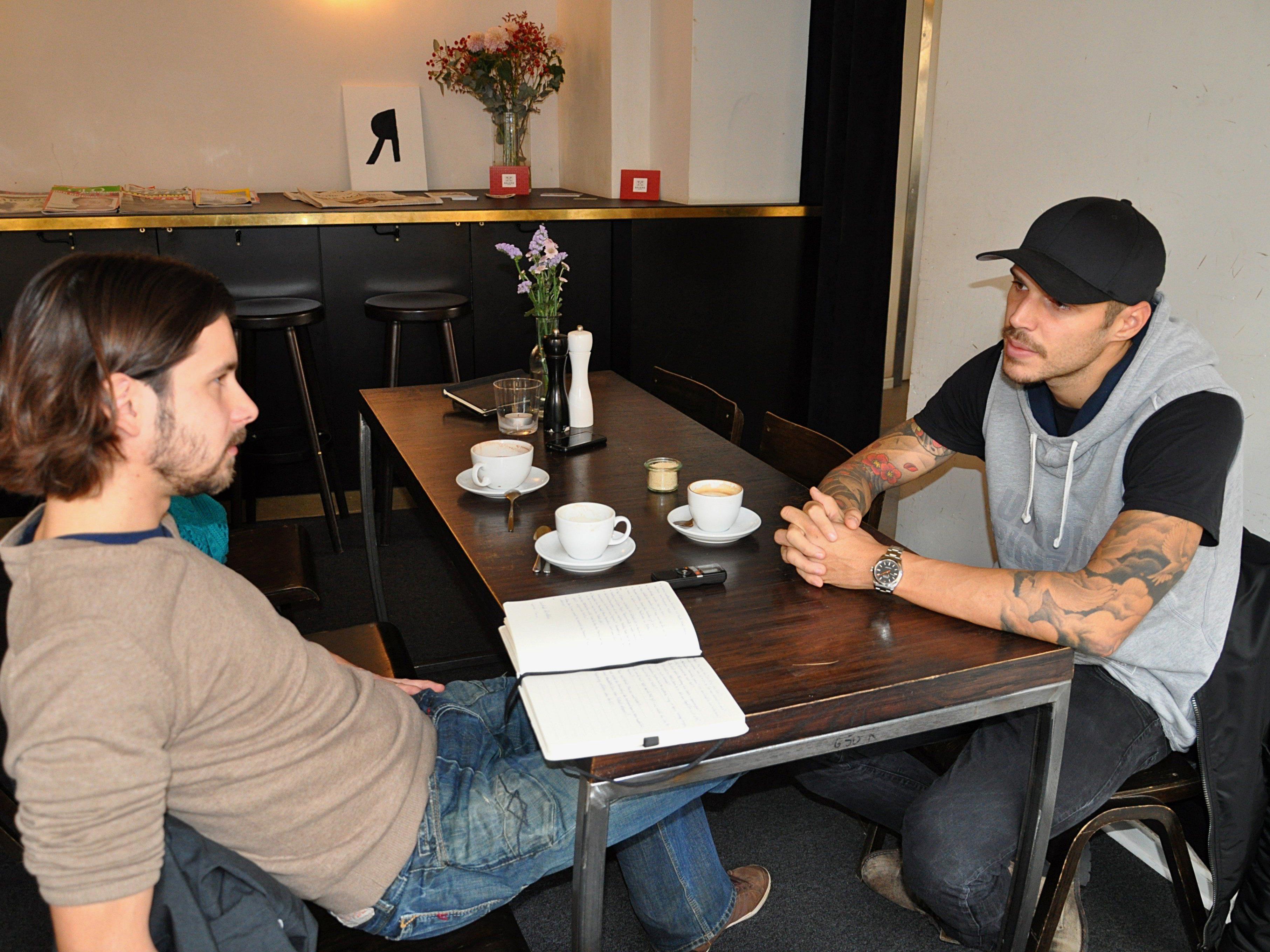 Christopher Trimmel im Gespräch mit VIENNA.at-Sportredakteur David Mayr.