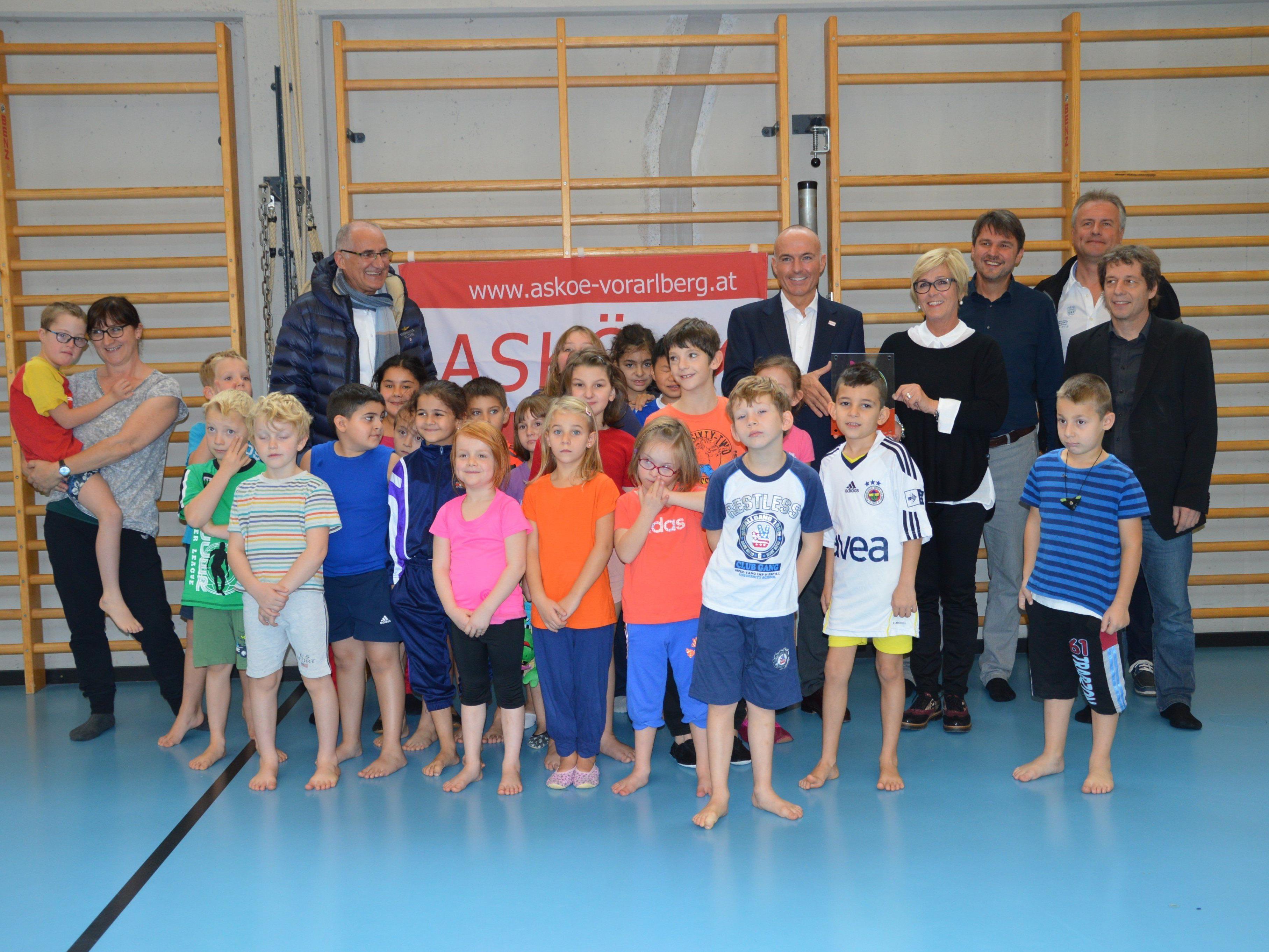 Die bewegteste Sonderschule Österreichs steht in Lustenau