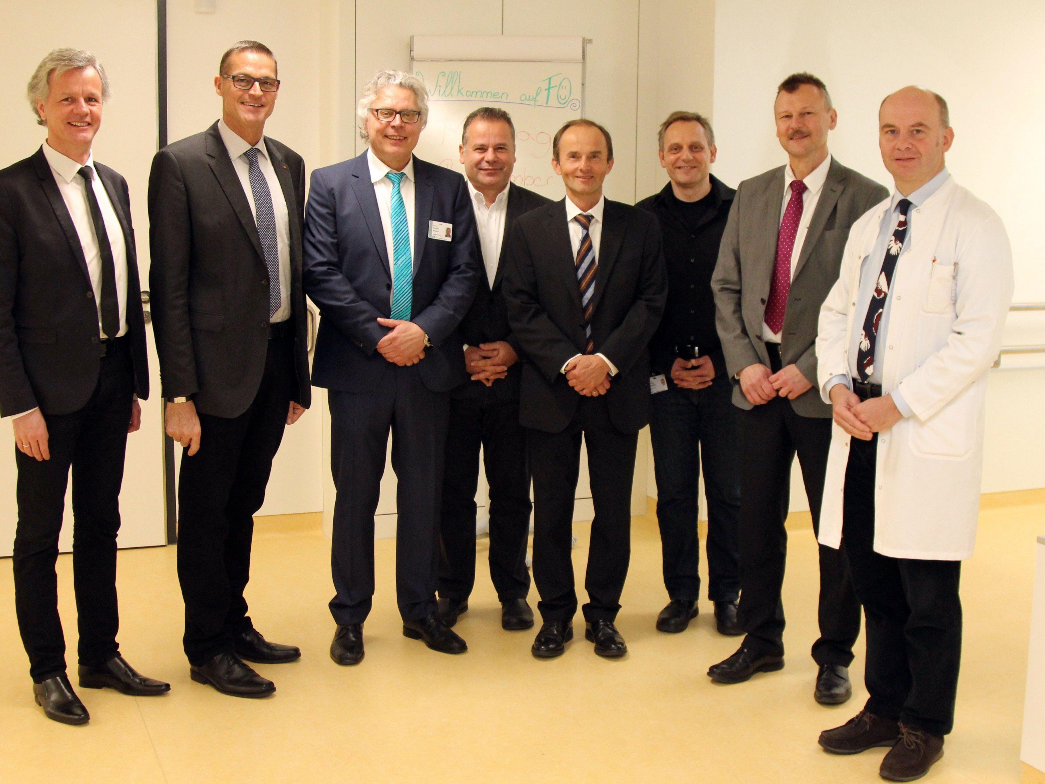 Die LKH Rankweil Verantwortlichen eröffneten die neue Station der Gerontopsychiatrie, welche speziell für die Bedürfnisse der älteren Patienten adaptiert wurde.