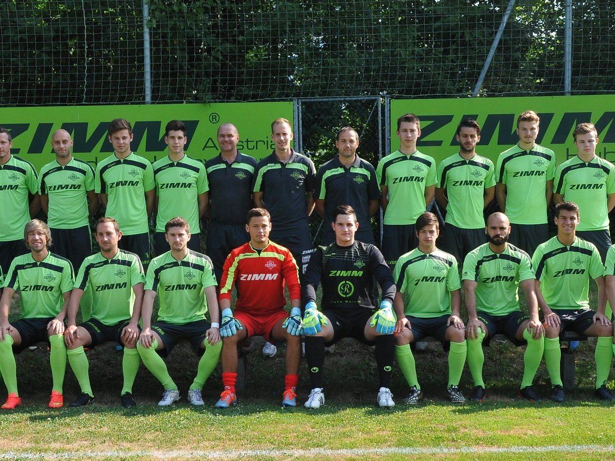 Der ZIMM FC Wolfurt macht noch einmal Jagd auf 3 Punkte!