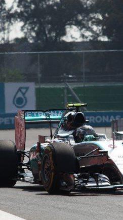 Nico Rosberg holte sich in Mexiko seinen vierten Saisonsieg.