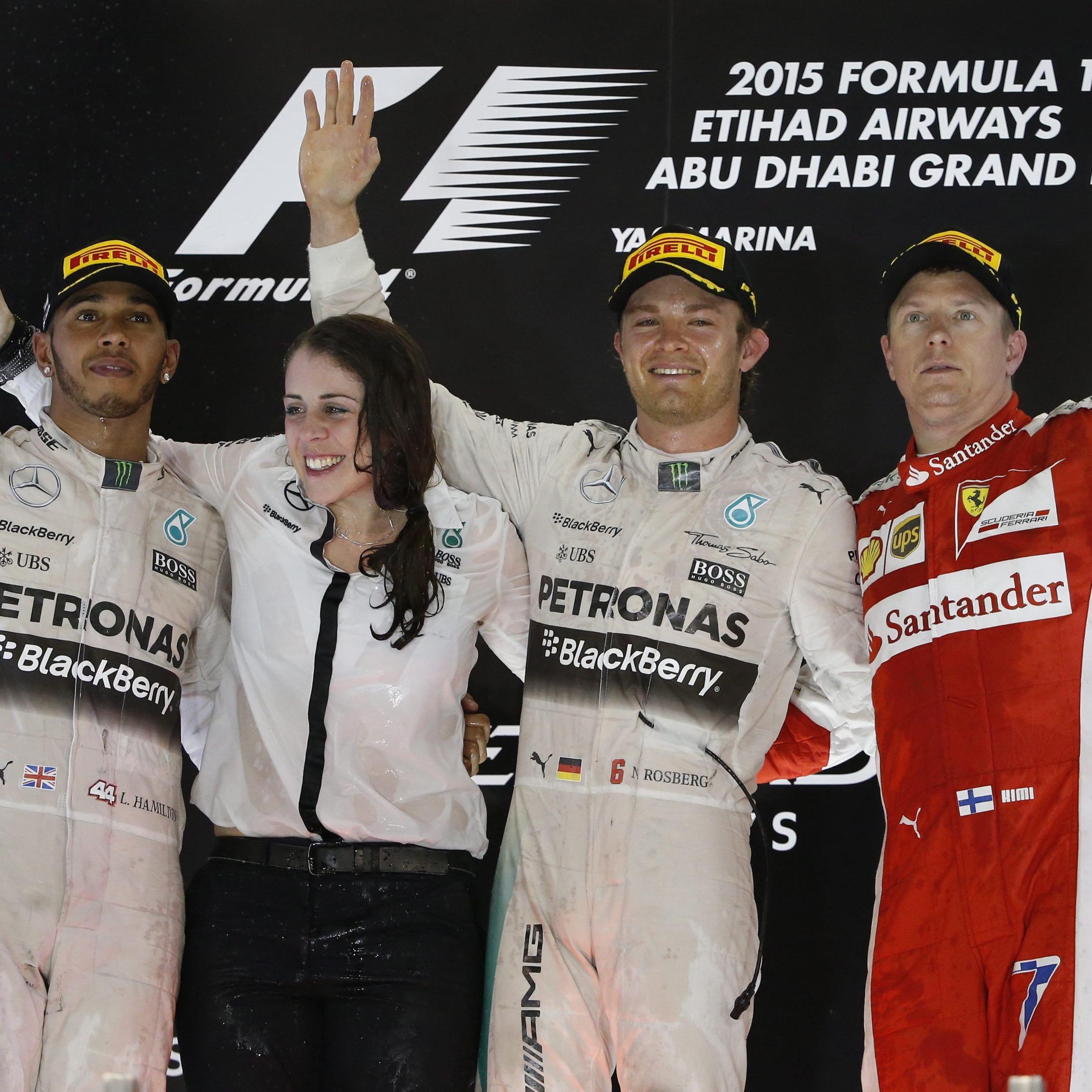 Rosberg konnte das letzten Rennen der Saison für sich entscheiden