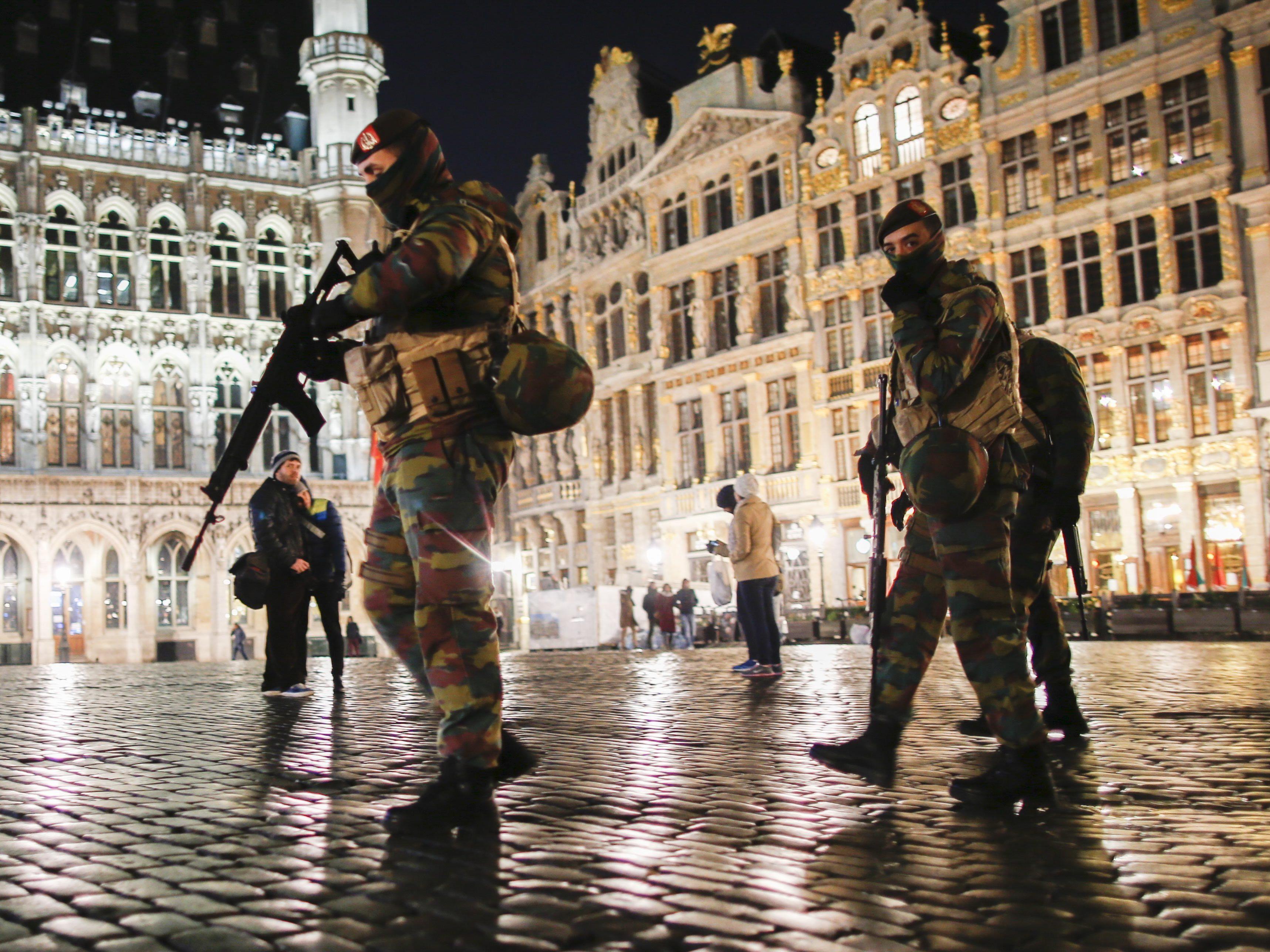 Maximale Terrorwarnstufe für Brüssel verlängert.