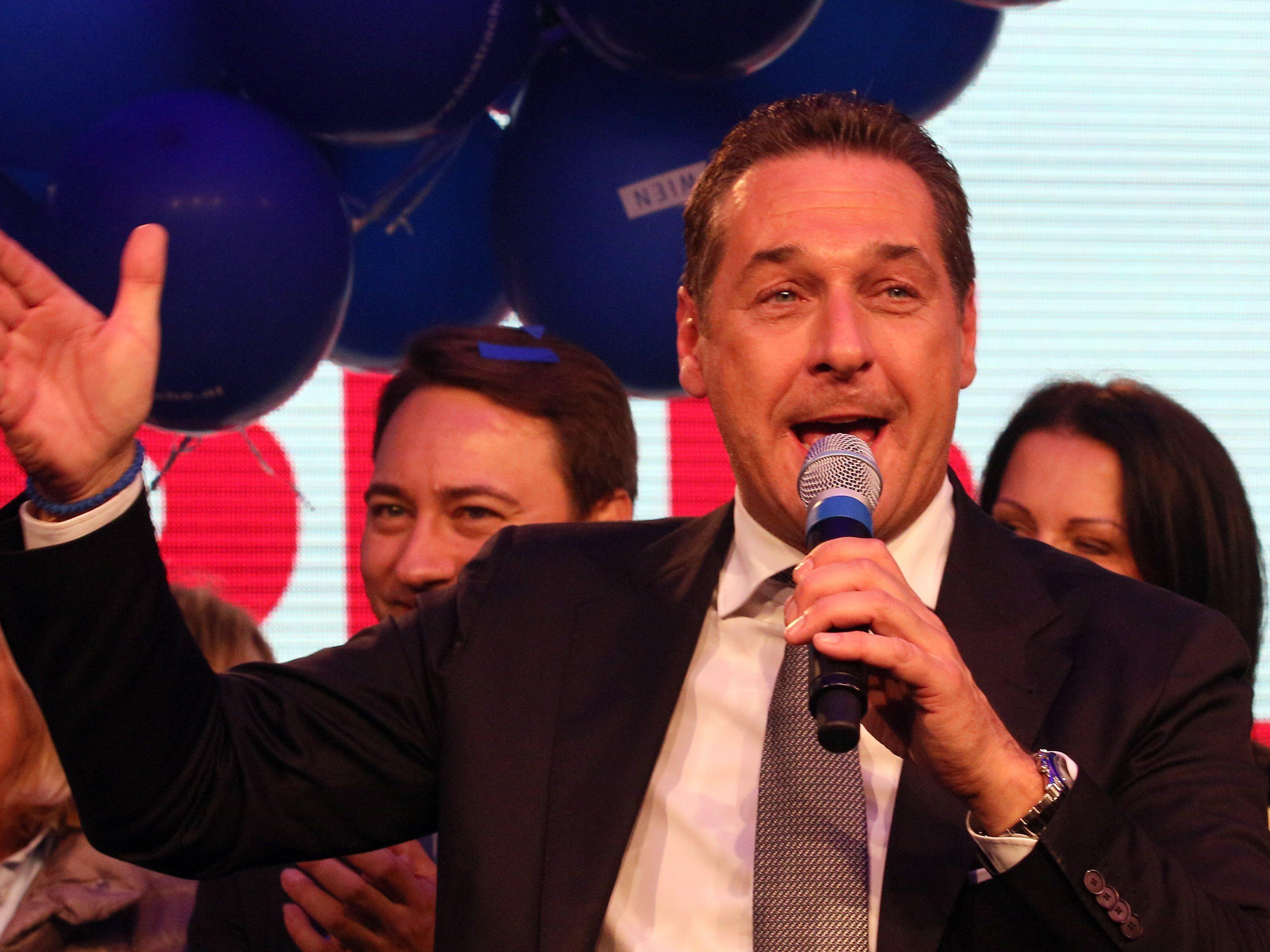 Strache kündigte in der Pressestunde eine Klage gegen die Regierung an.