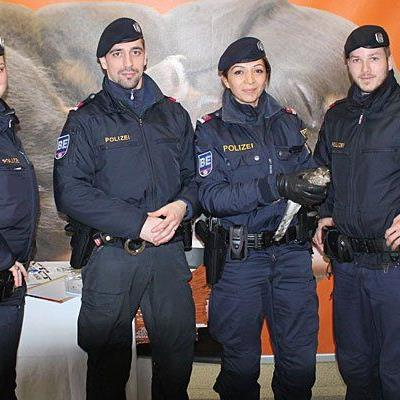 Diese Wiener Polizisten fanden den kleinen Sperber