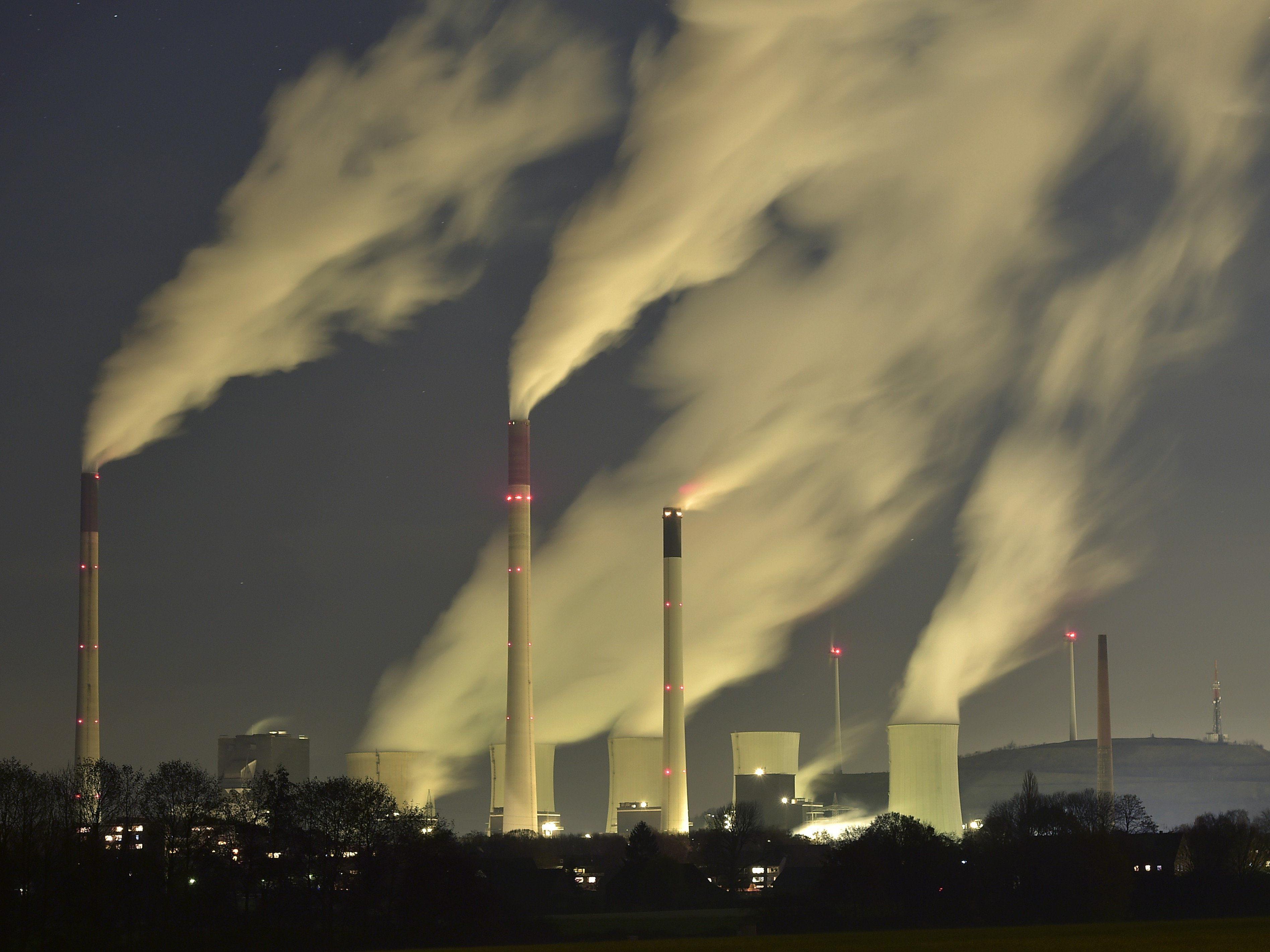 Kohlendioxid (CO2) trägt zu 76 Prozent zum Treibhauseffekt bei.