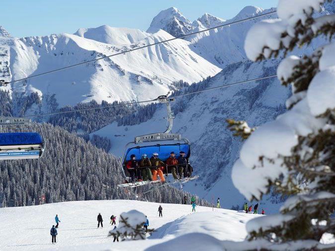 Vorarlbergs Skigebiete zählen zu den günstigsten in der Alpenregion.