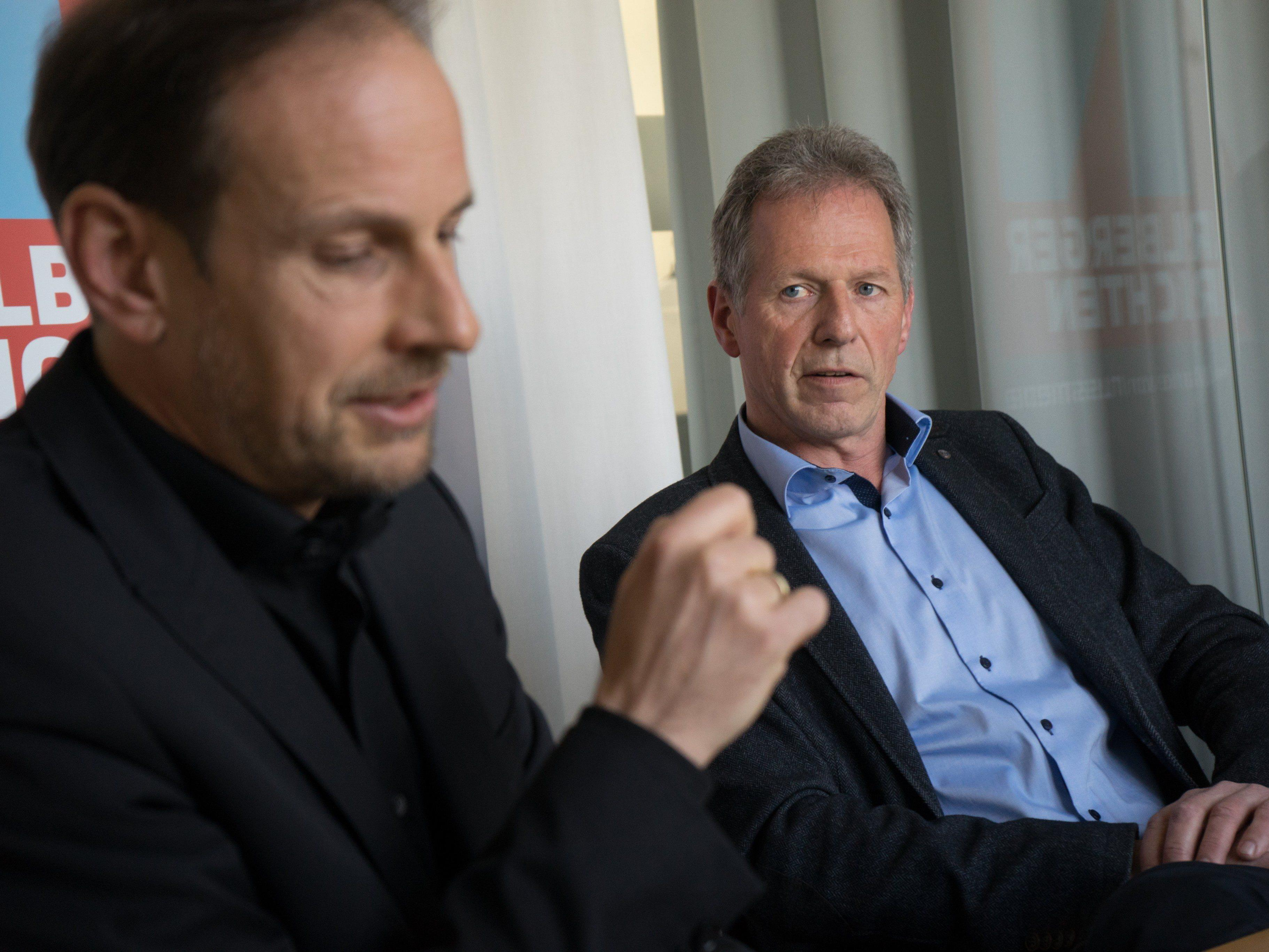 """Bislang wirkt der von Egger ausgerufene """"Nichtwahlkampf"""" wie ein ganz gewöhnlicher Vorarlberger Wahlkampf."""