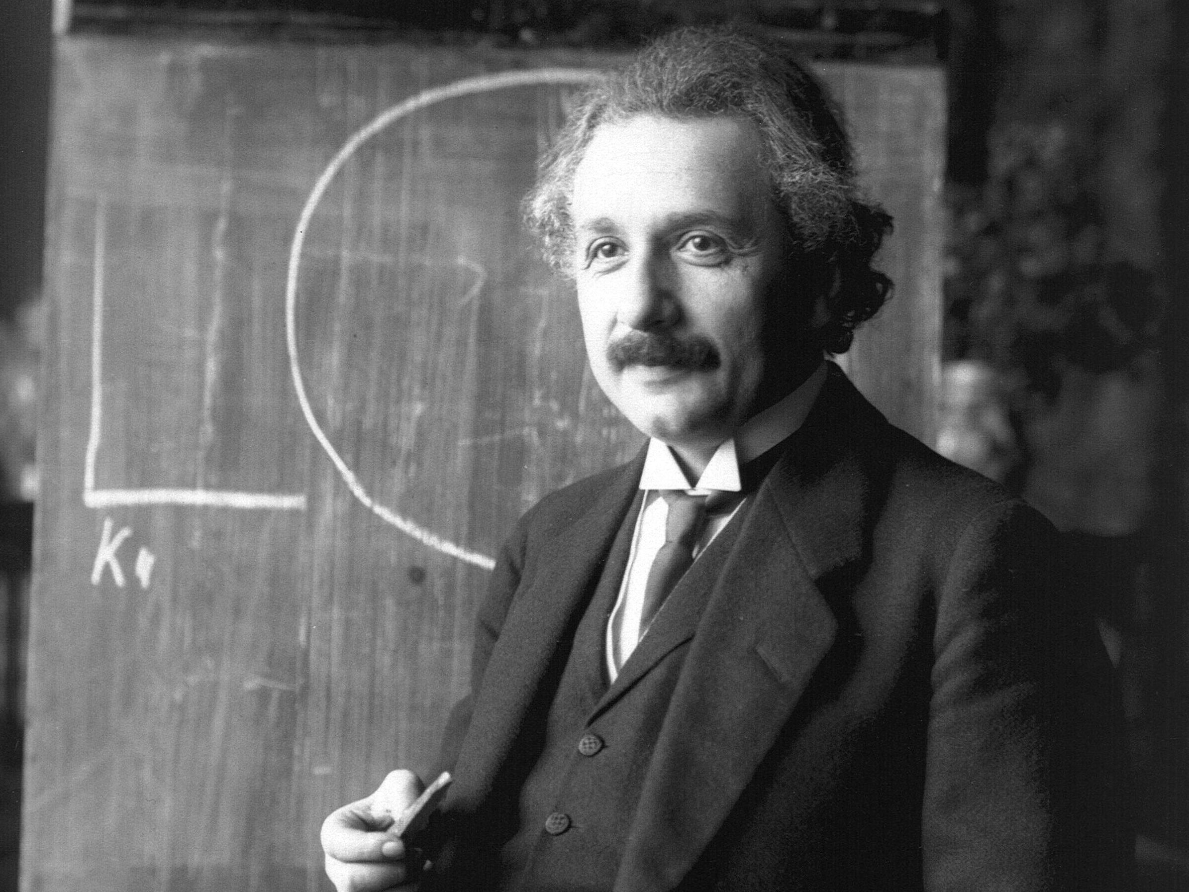 Mit seiner Allgemeinen Relativitätstheorie revolutionierte Einstein des Bild des Universums.