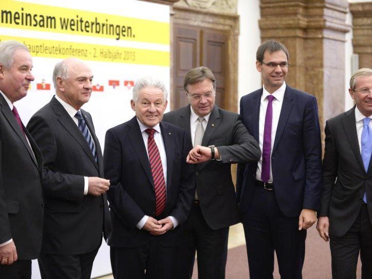 Landeshauptleutekonferenz stellt klare Forderungen im Finanzausgleich