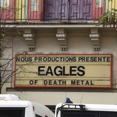 Die White Miles spielten als Vorband der Eagles of Death Metal.