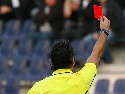 Nach 5 Roten Karten: Tumulte auf Wiener Fußballplatz