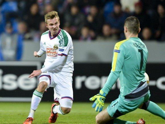 Philipp Schobesberger ist von der UEFA ins Team der Runde gewählt worden