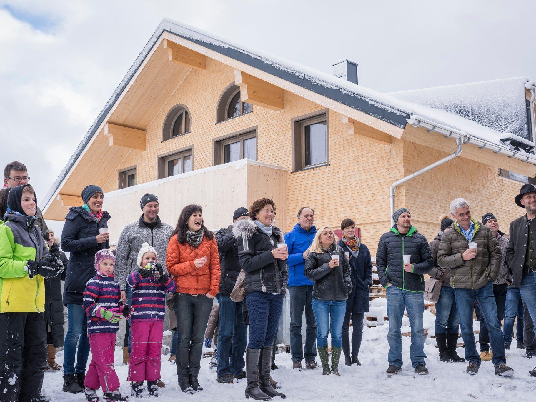 """Die ersten Wohnungen der """"Alpen.Lodge"""" können Mitte Dezember an ihre neuen Eigentümer übergeben werden."""