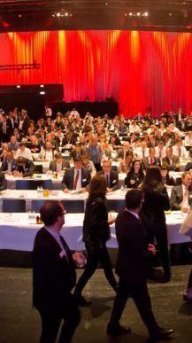 Wirtschaftsforum 2015: Kurz mit düsterer Prognose.